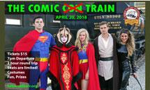 The Comic (Not Con) Train