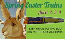 Spring Easter Trains