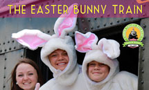 The Easter Bunny Train