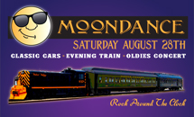 Moondance Train & Oldies Show