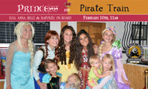Princess and Pirate Train