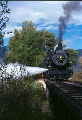 Locomotive 618 during Summer in Heber Valley