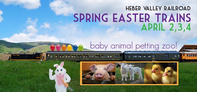 Spring Easter Train