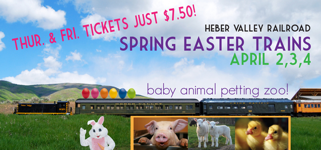 Spring Easter Train