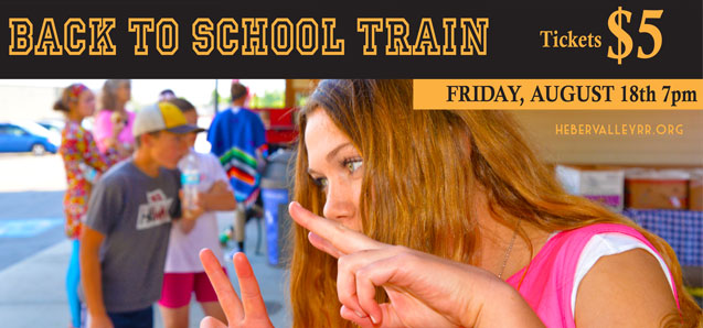 Back To School Train