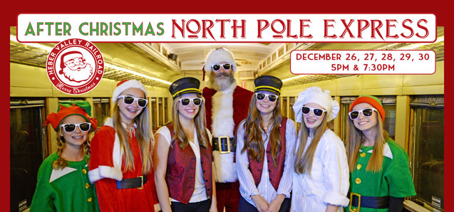 After Christmas North Pole Express