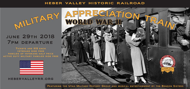 Military Appreciation Train – World War II